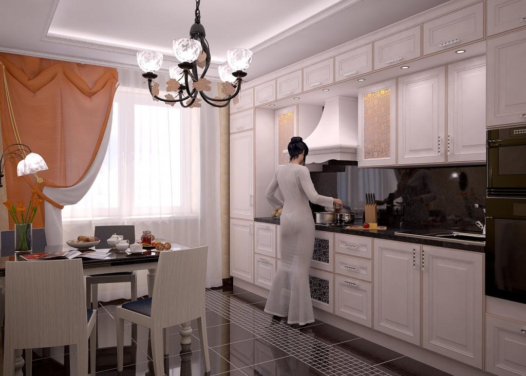 Интерьеры квартир фото классика